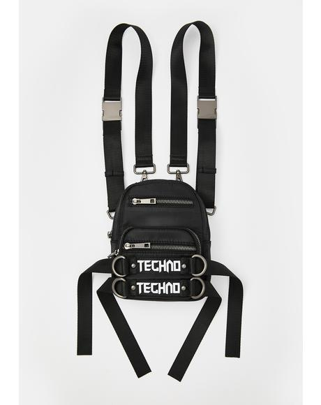 Techno Time Utility Backpack