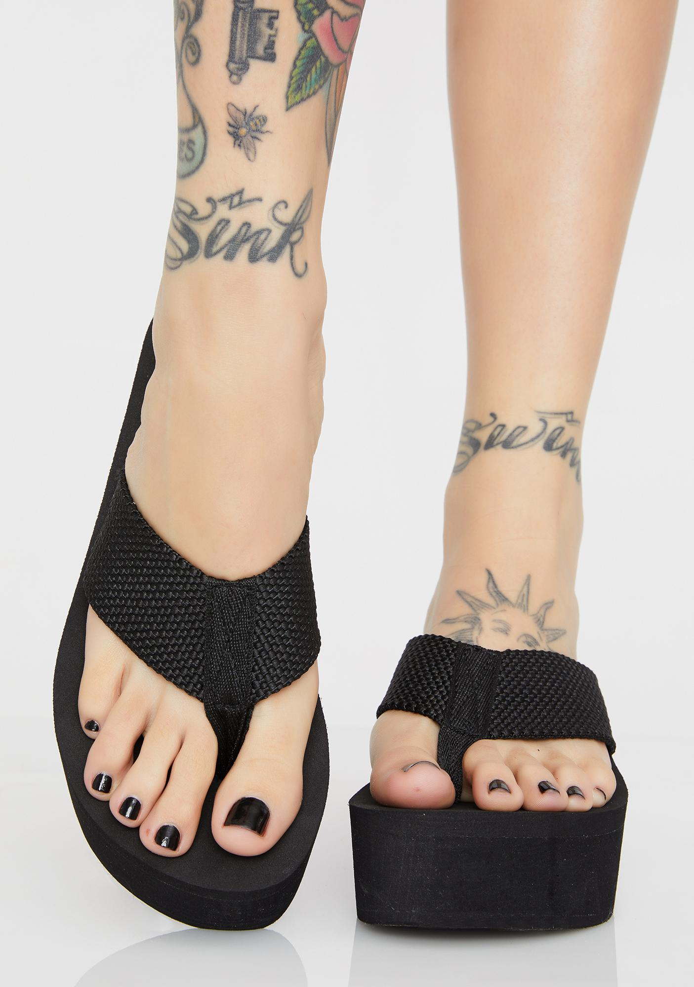 Spirit Walker Platform Sandals