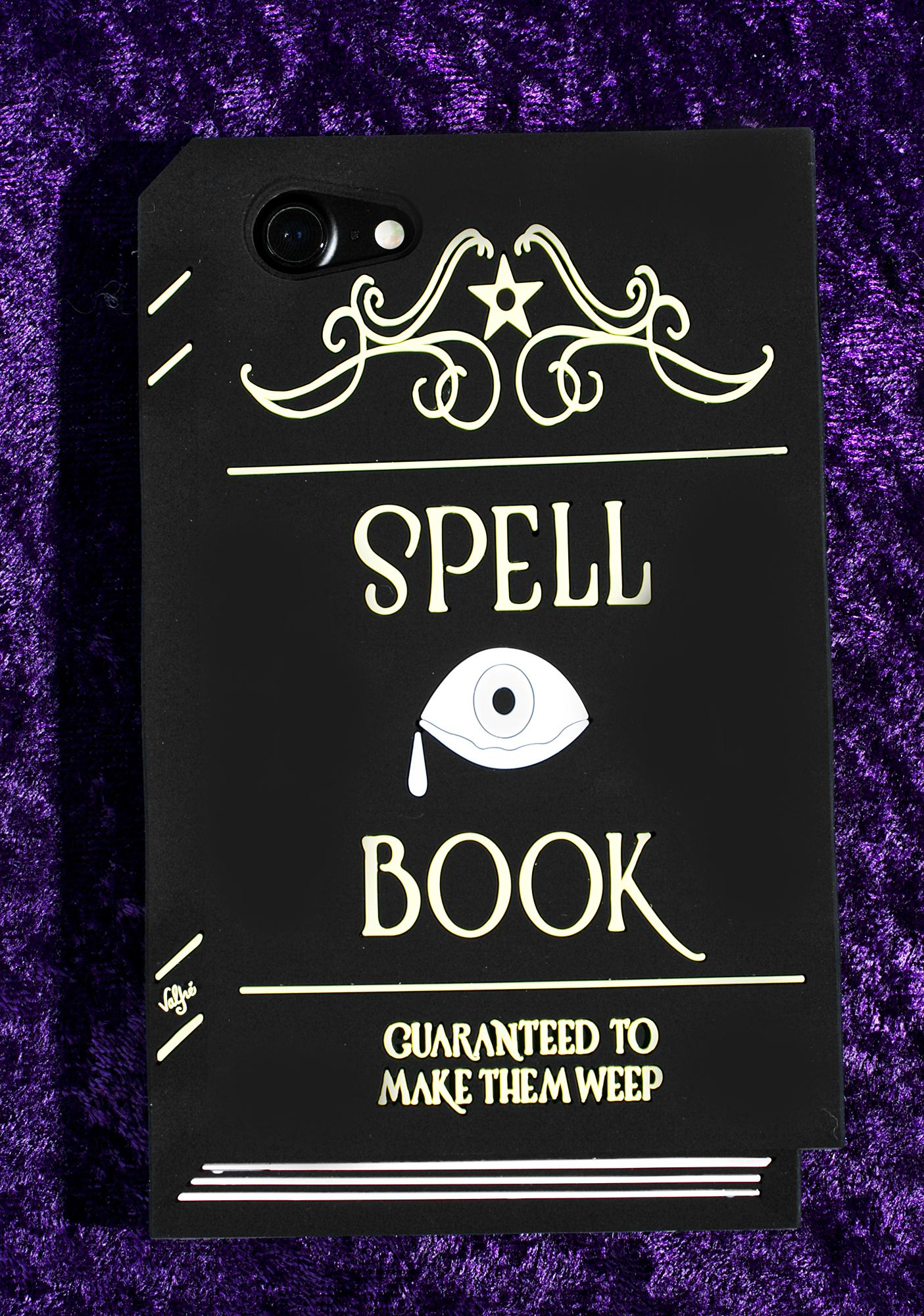 Valfré Spell Book 3D iPhone Case