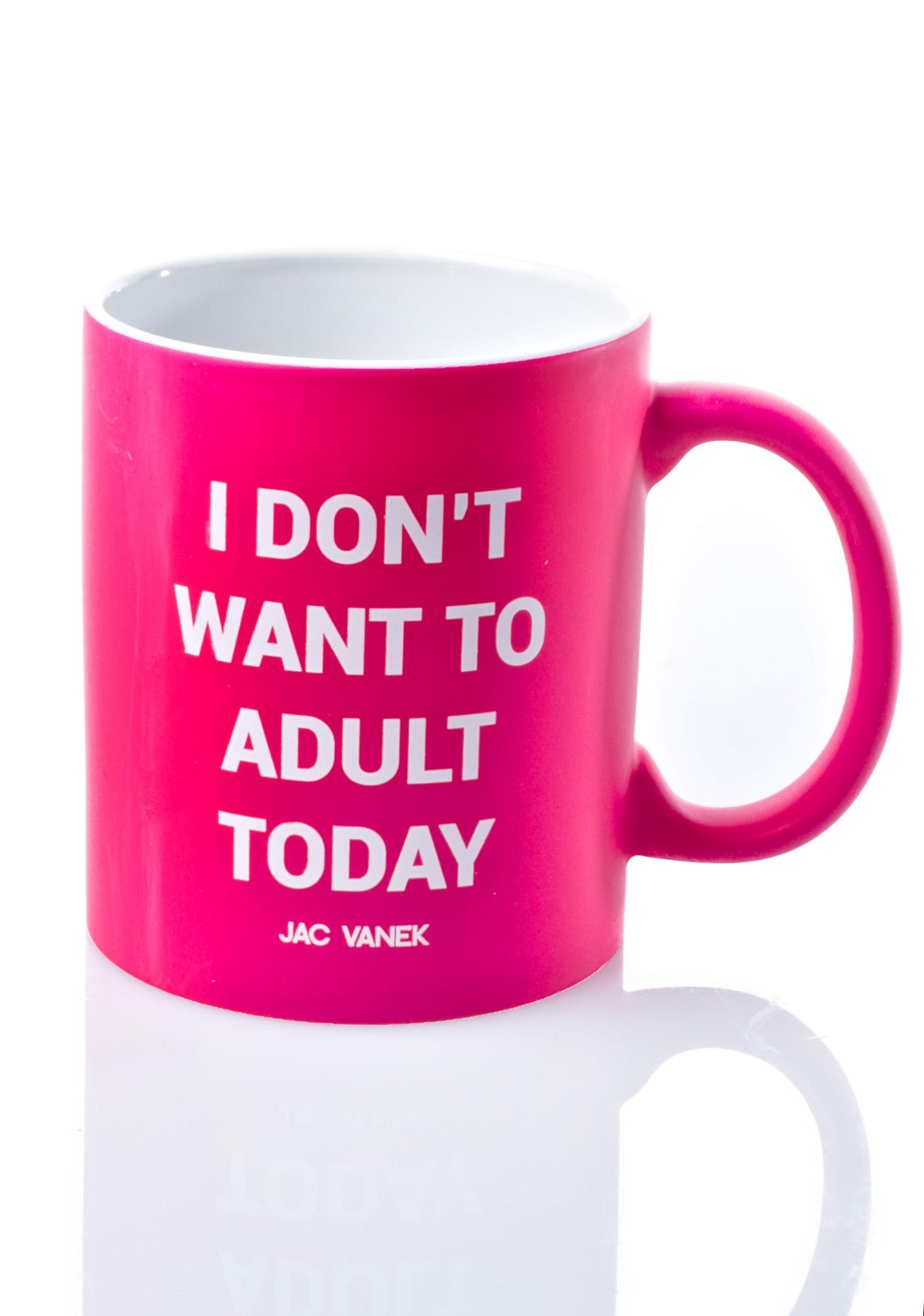 Jac Vanek Adult Coffee Mug