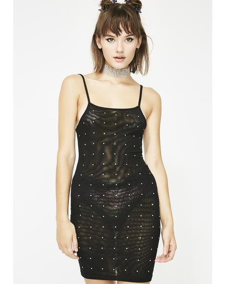 Hurry Hurry Mesh Dress