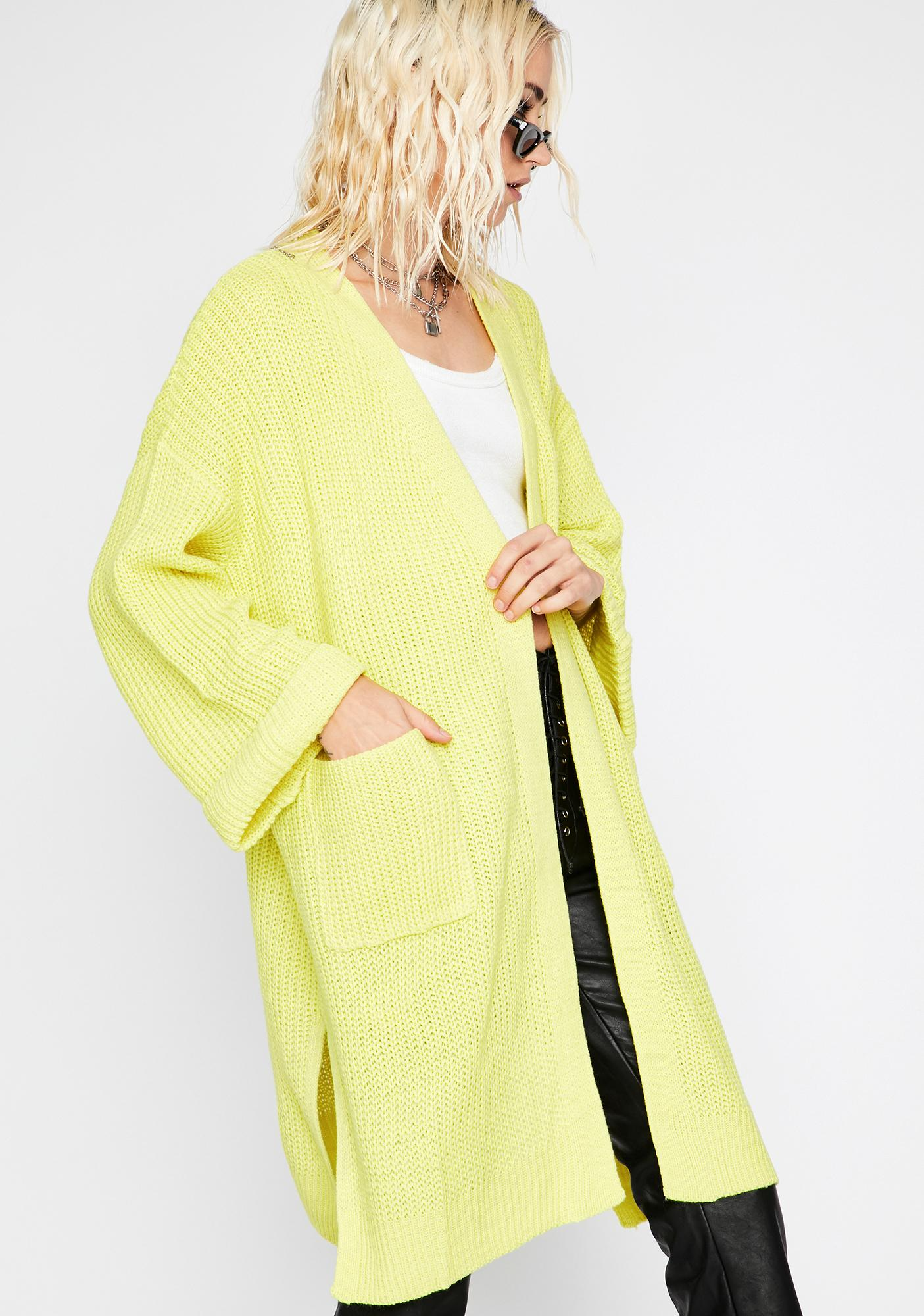 Total Chiller Knit Cardigan