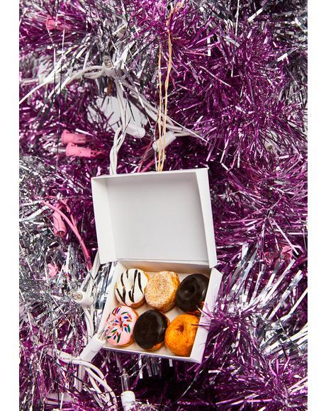 Hot N' Fresh Doughnut Ornament