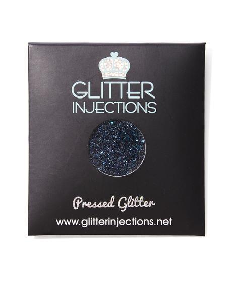 Black Ice Pressed Glitter