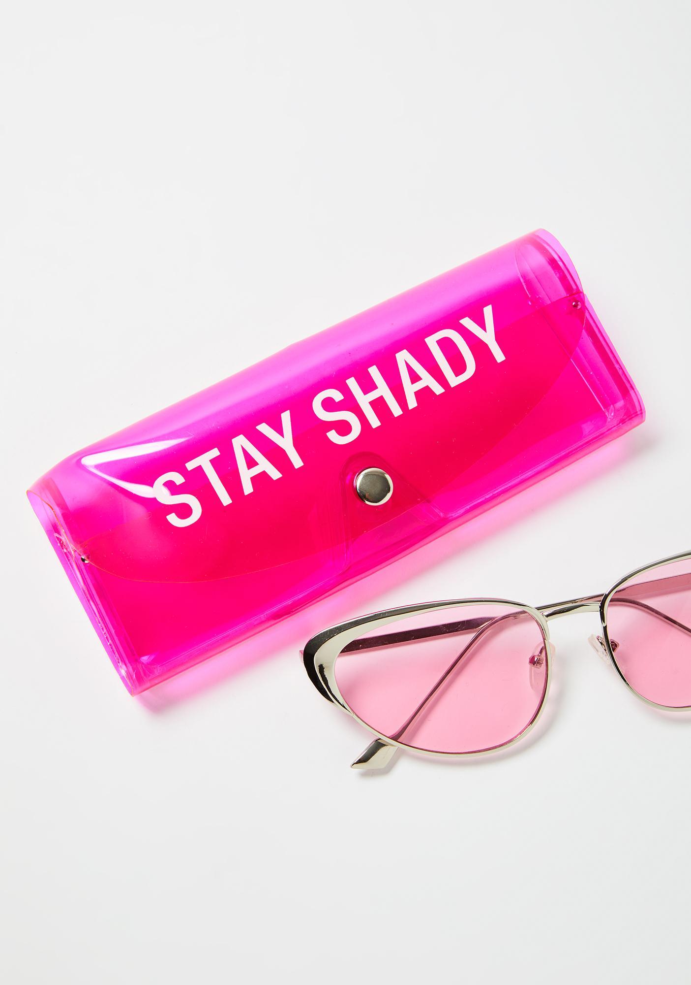 Stay Shady Sunglasses Case