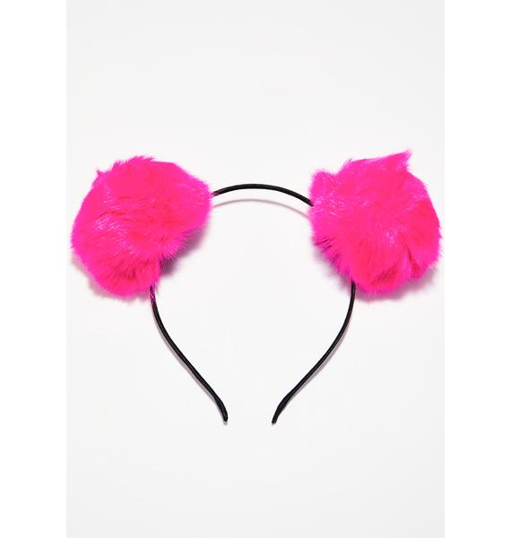 Lover Babe Bear Pom Pom Ears