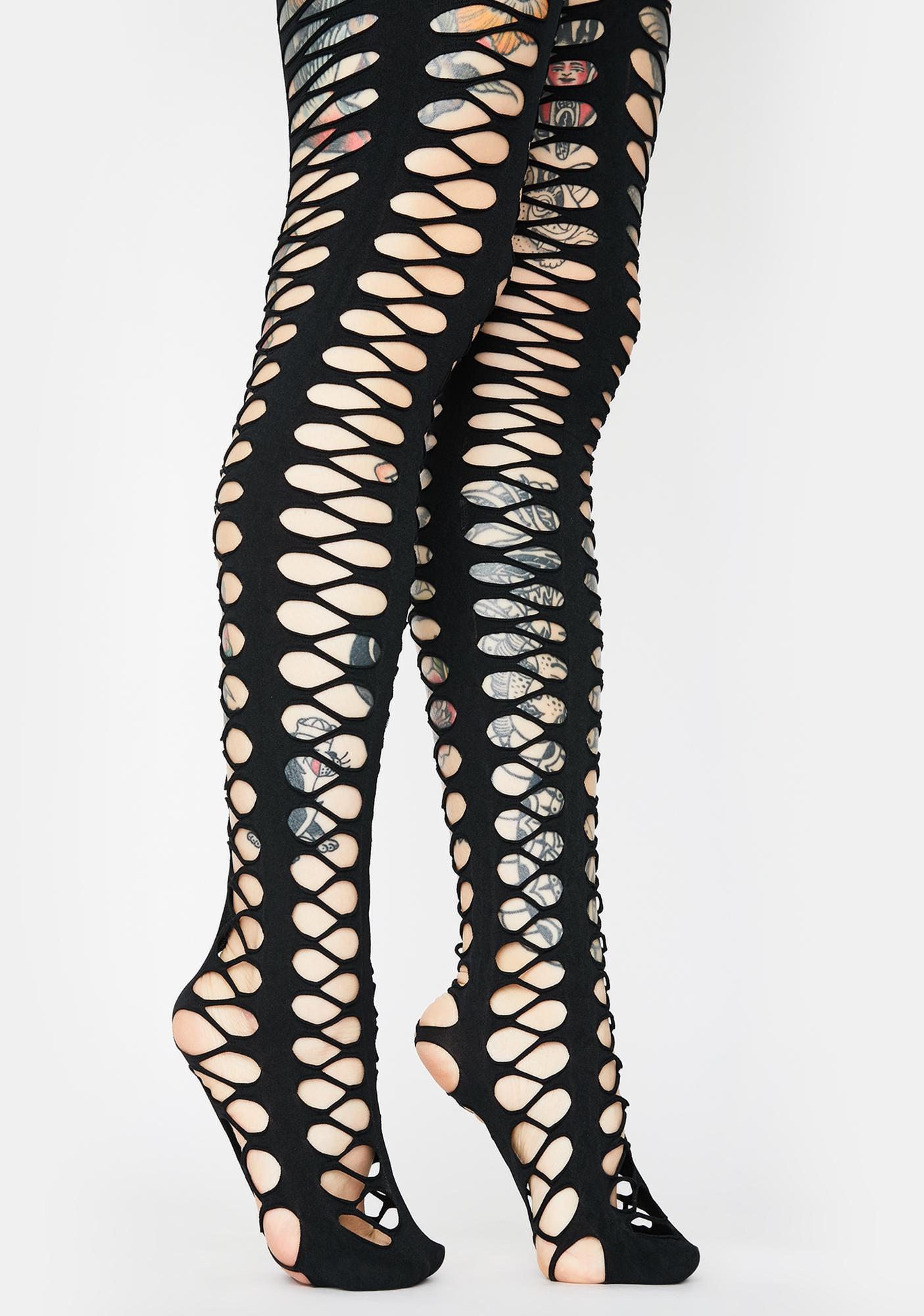 Killstar Mistress Fishnet Tights