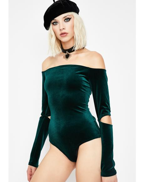 Kush What I Like Off Shoulder Bodysuit