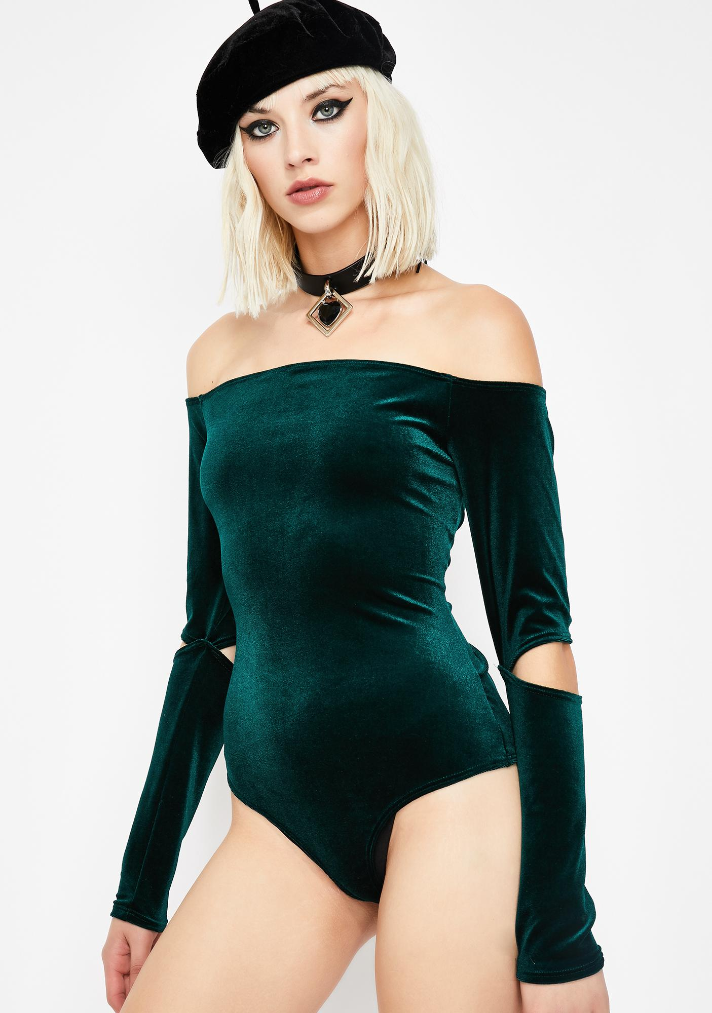 Kush What I Like Off Shoulder Bodysuit