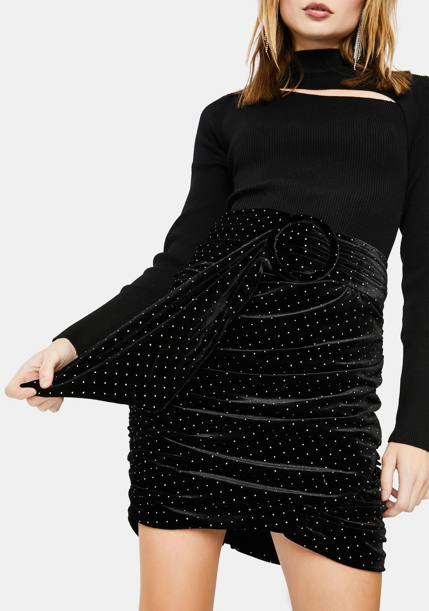 For Love & Lemons Margot Mini Skirt
