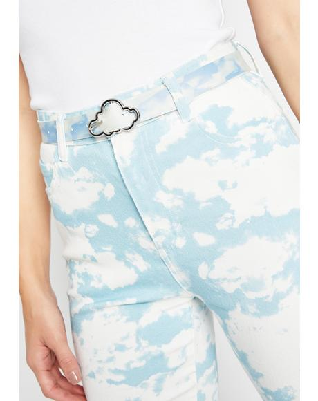 Kiss The Clouds Buckle Belt