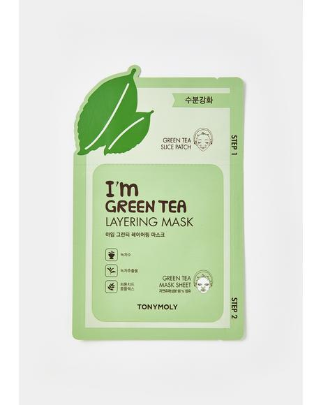Green Tea Layering Sheet Mask