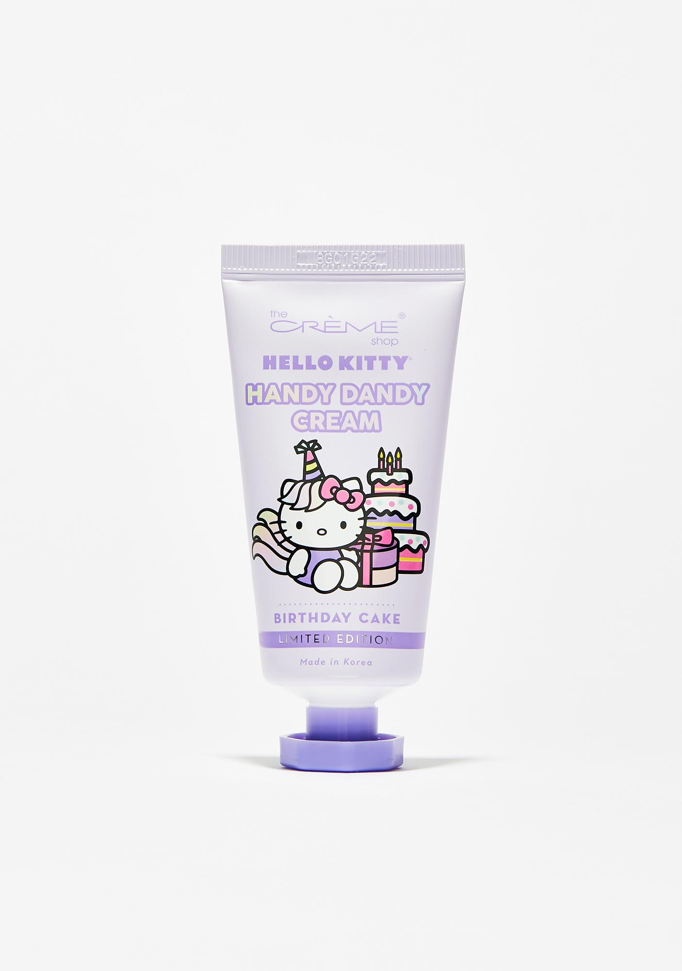 The Creme Shop Birthday Cake Hello Kitty Hand Cream