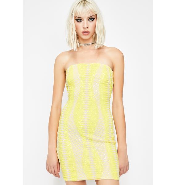 Bodak Werq Wonders Sequin Dress
