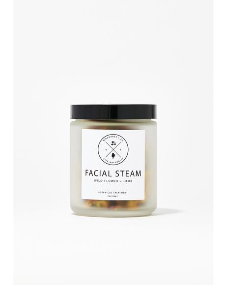 Wild Flower + Herb Facial Steam