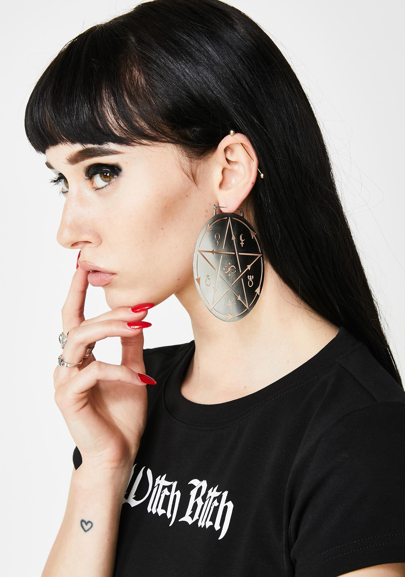 Too Fast Witchcraft Earrings
