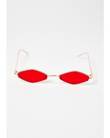 Ice Empress Tiny Sunglasses