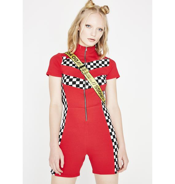 Win The Race Racer Romper