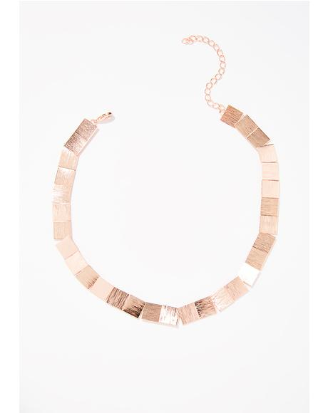 Piece By Piece Collar Necklace