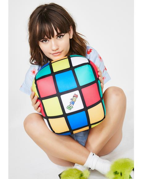 Rubik's Revolution Cube Pillow