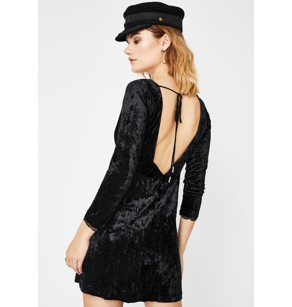 Free People Kat Velvet Mini Dress