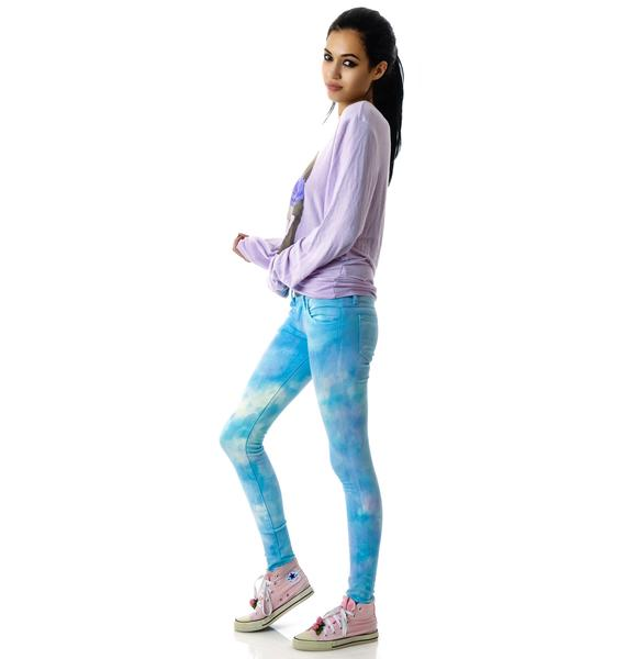 Wildfox Couture Daydream Marianne Skinny Jeans