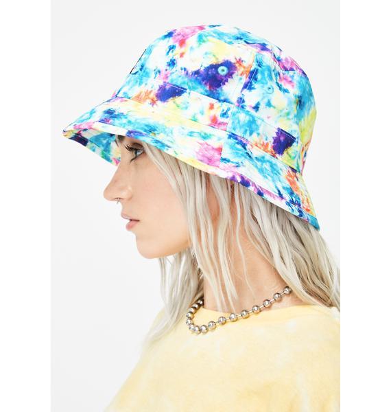 RIPNDIP Tie Dye Lord Nermal Bucket Hat