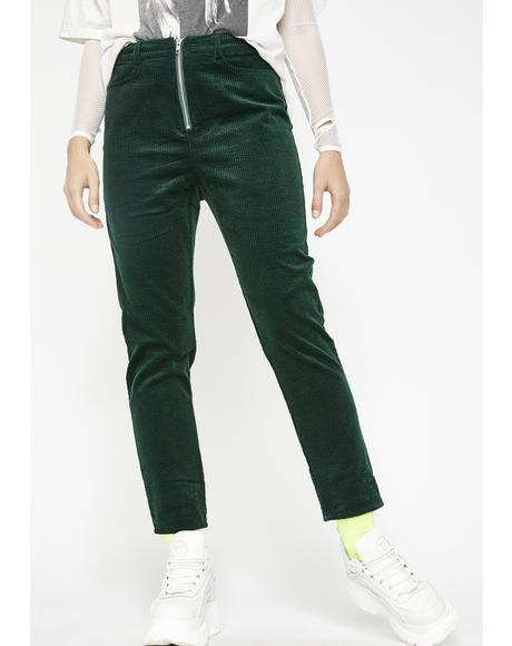Emerald Moment's Notice Corduroy Pants