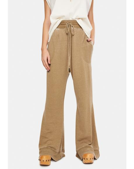 Olive Army Cozy Cool Lounge Pants