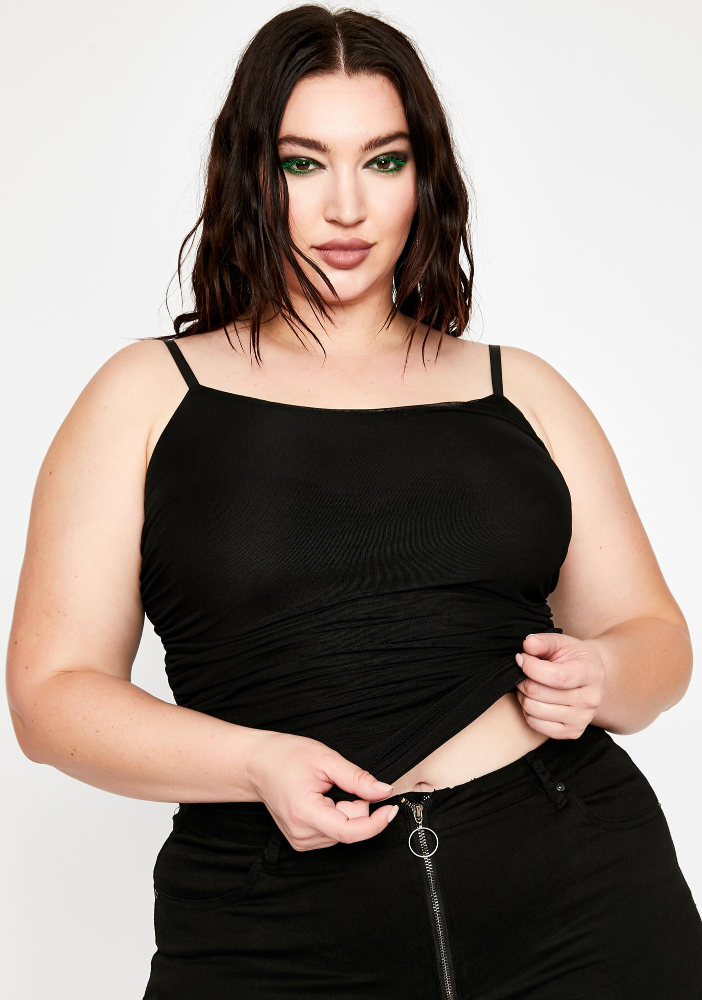 Totally Drama Free Ruched Cami