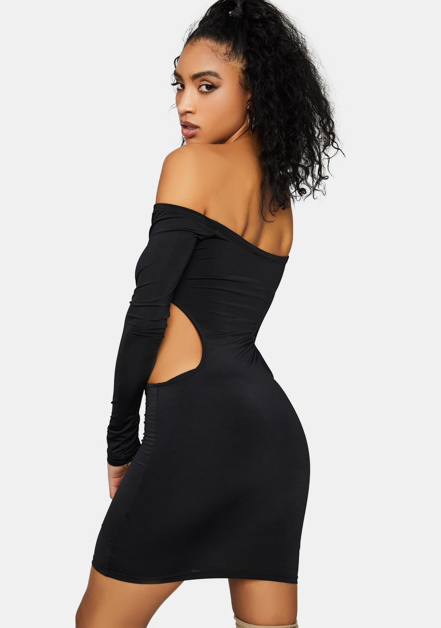 Secretly My Favorite Cutout Mini Dress