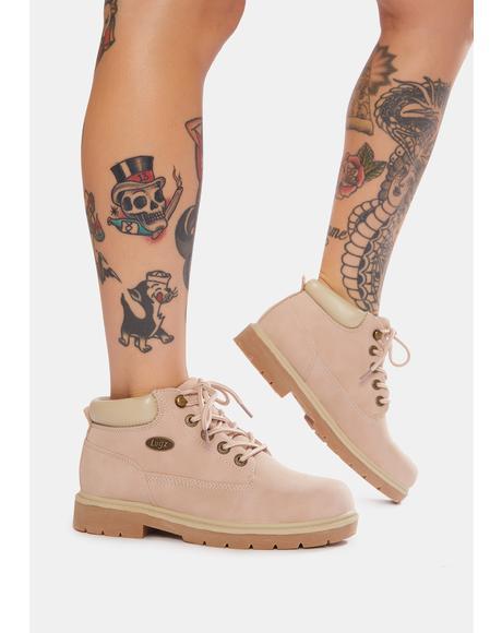 Soft Pink Drifter LX Chukka Boots