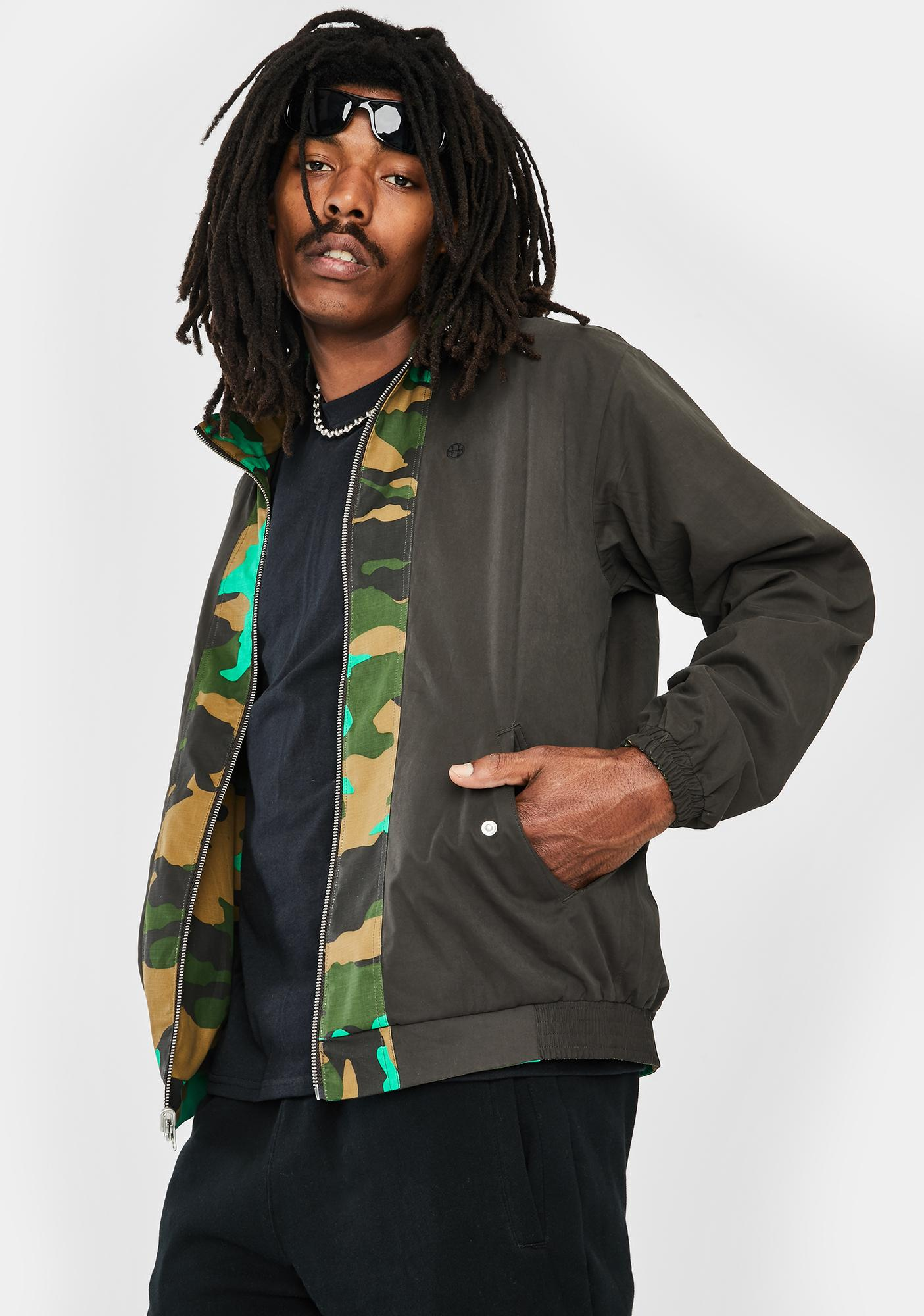 HUF Cambridge Harrington Jacket