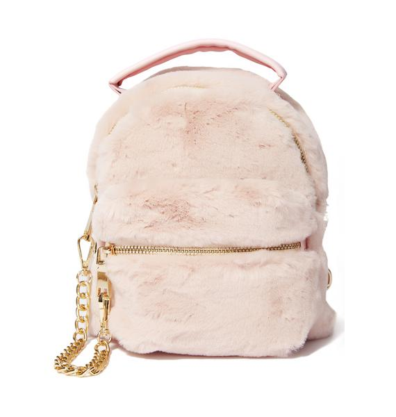 Goin' Soft Furry Backpack