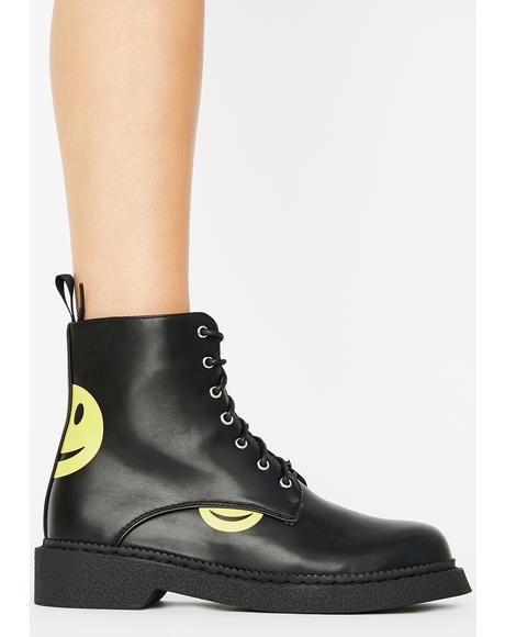 Hide Away Combat Boots