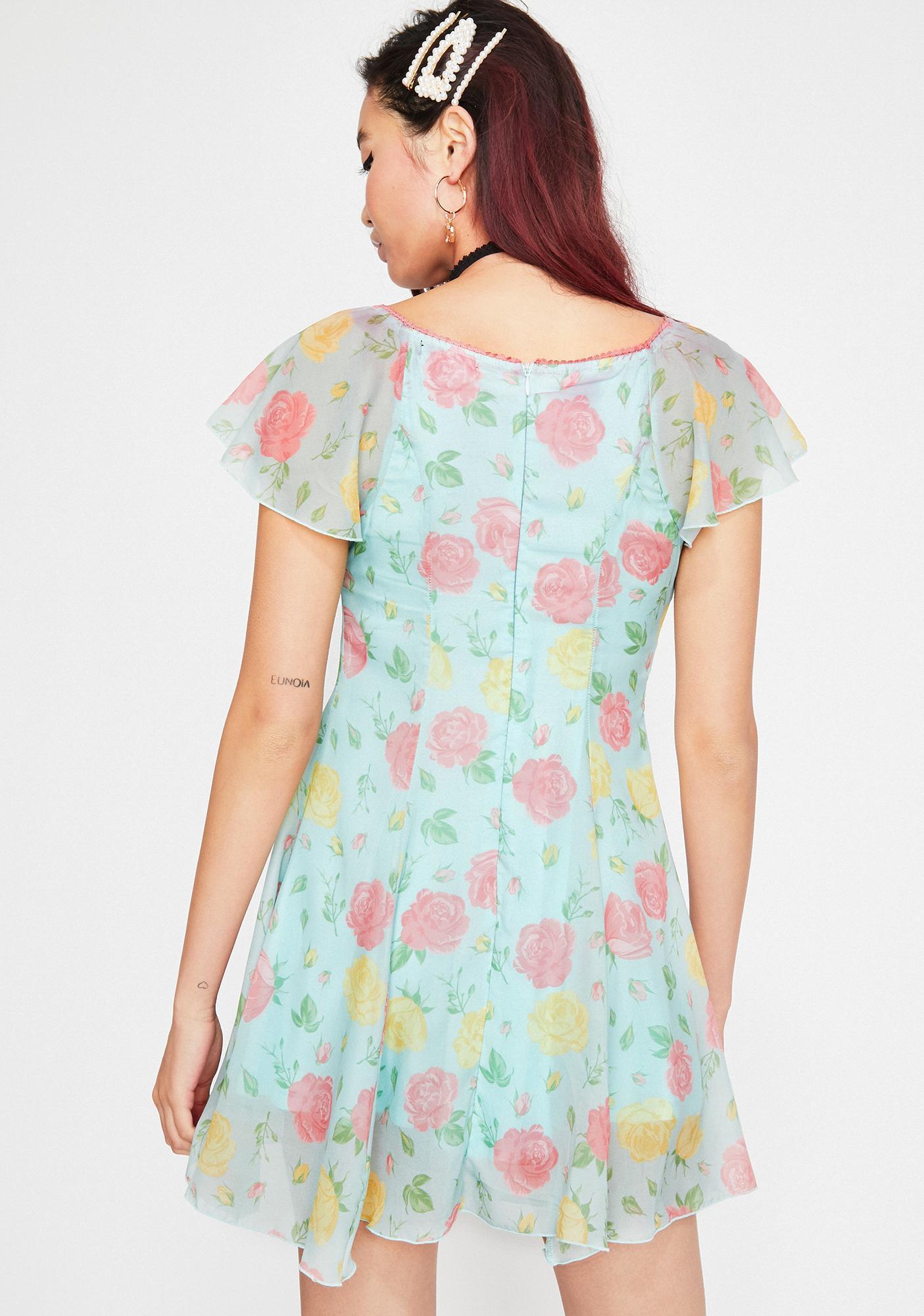 Current Mood Sherbert Meadow Floral Dress