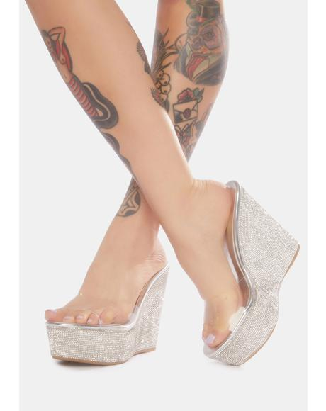 Share My Shine Glitter Wedges