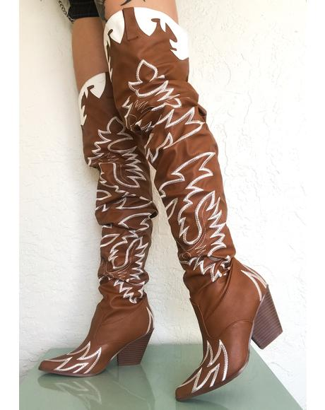 Sienna Love Bandit Cowgirl Boots