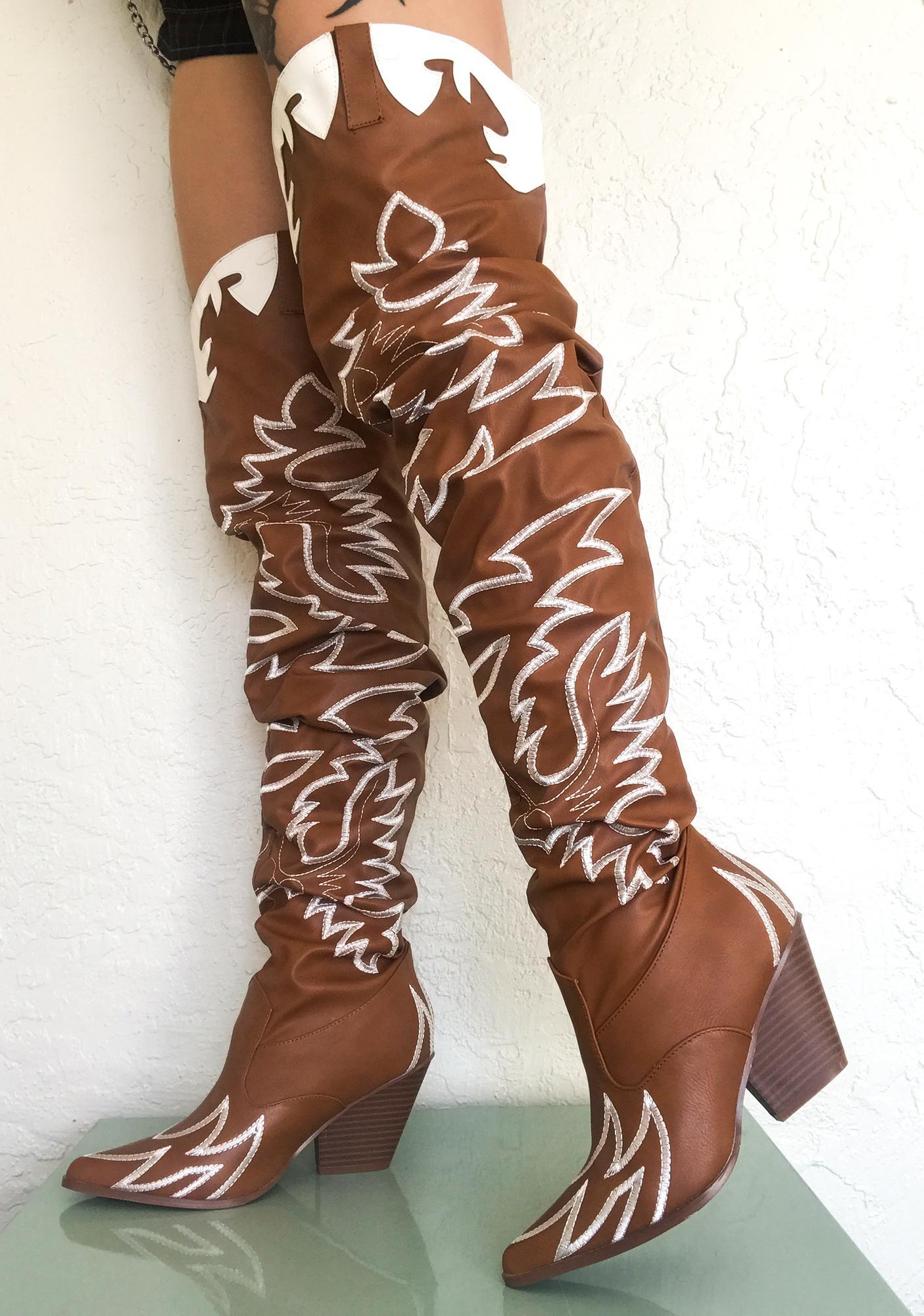 Sienna Love Bandit Cowgirl Boots