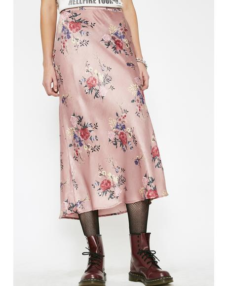 Afternoon Delight Midi Skirt