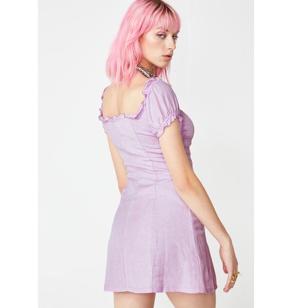 So Serene Linen Dress