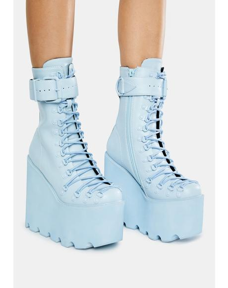 Baby Blue Traitor Boots