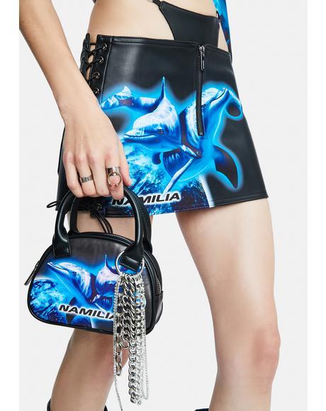 Cyber Dolphin Mini Bag