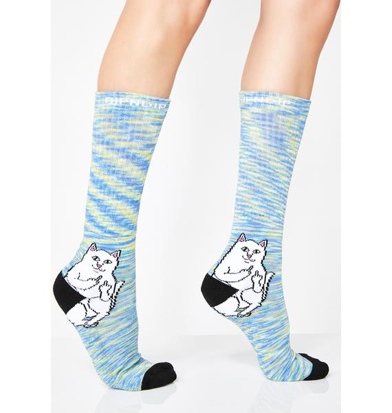 RIPNDIP Space Dye Lord Nermal Socks