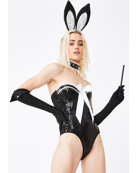 Centerfold Chic Costume Set