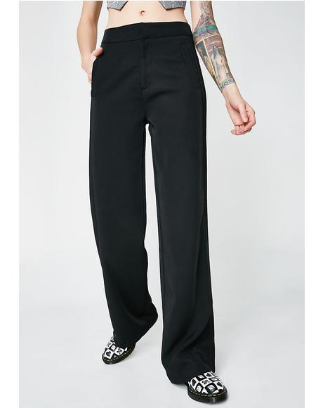 Kitty Walk The Line Wide Leg Pants