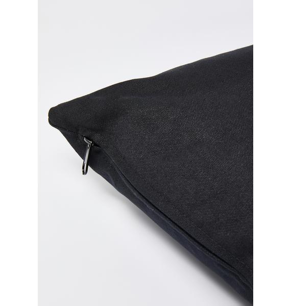 Femfetti Practice Safe Hex Pillow