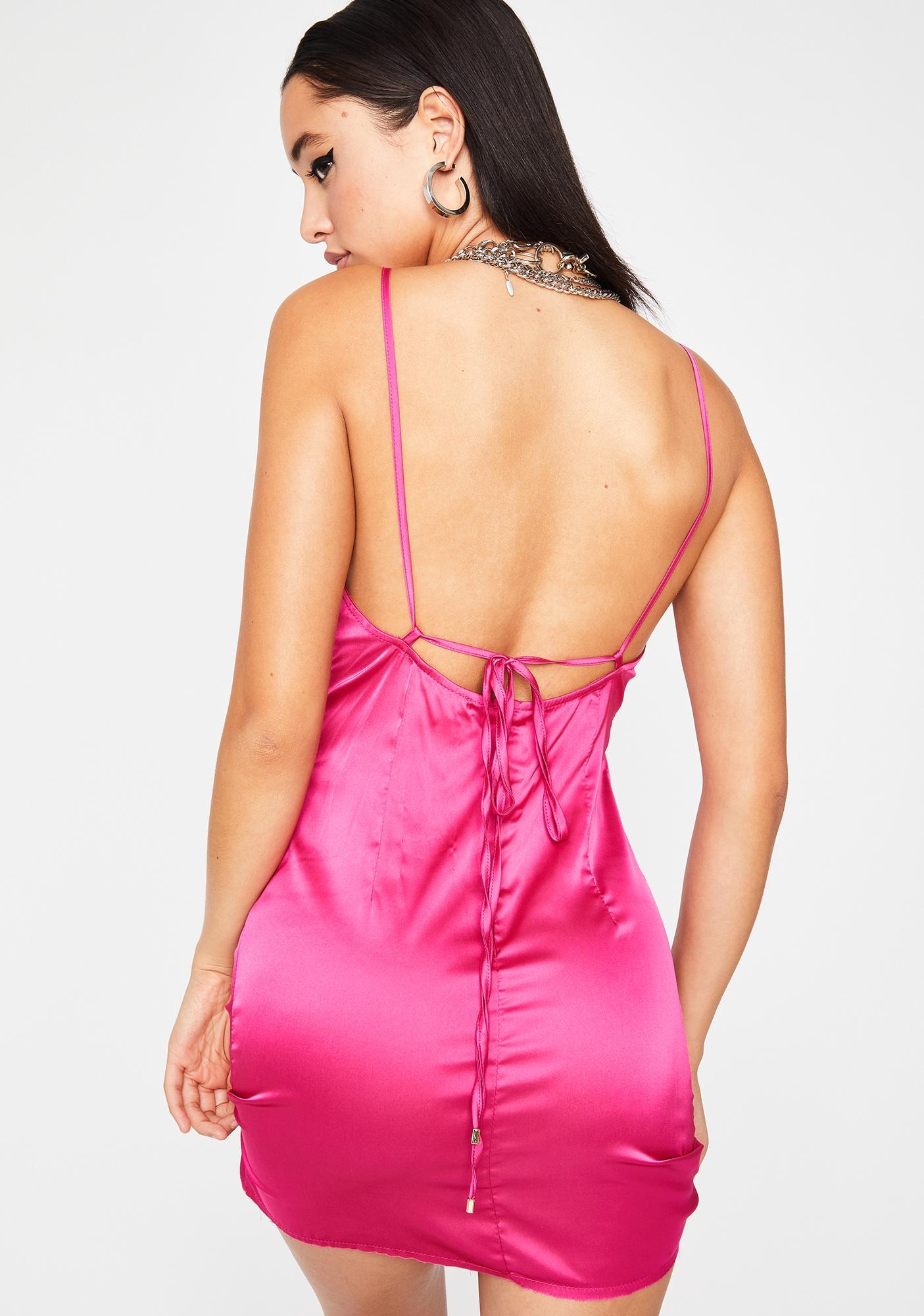 Sweetie Starting Trouble Slip Dress