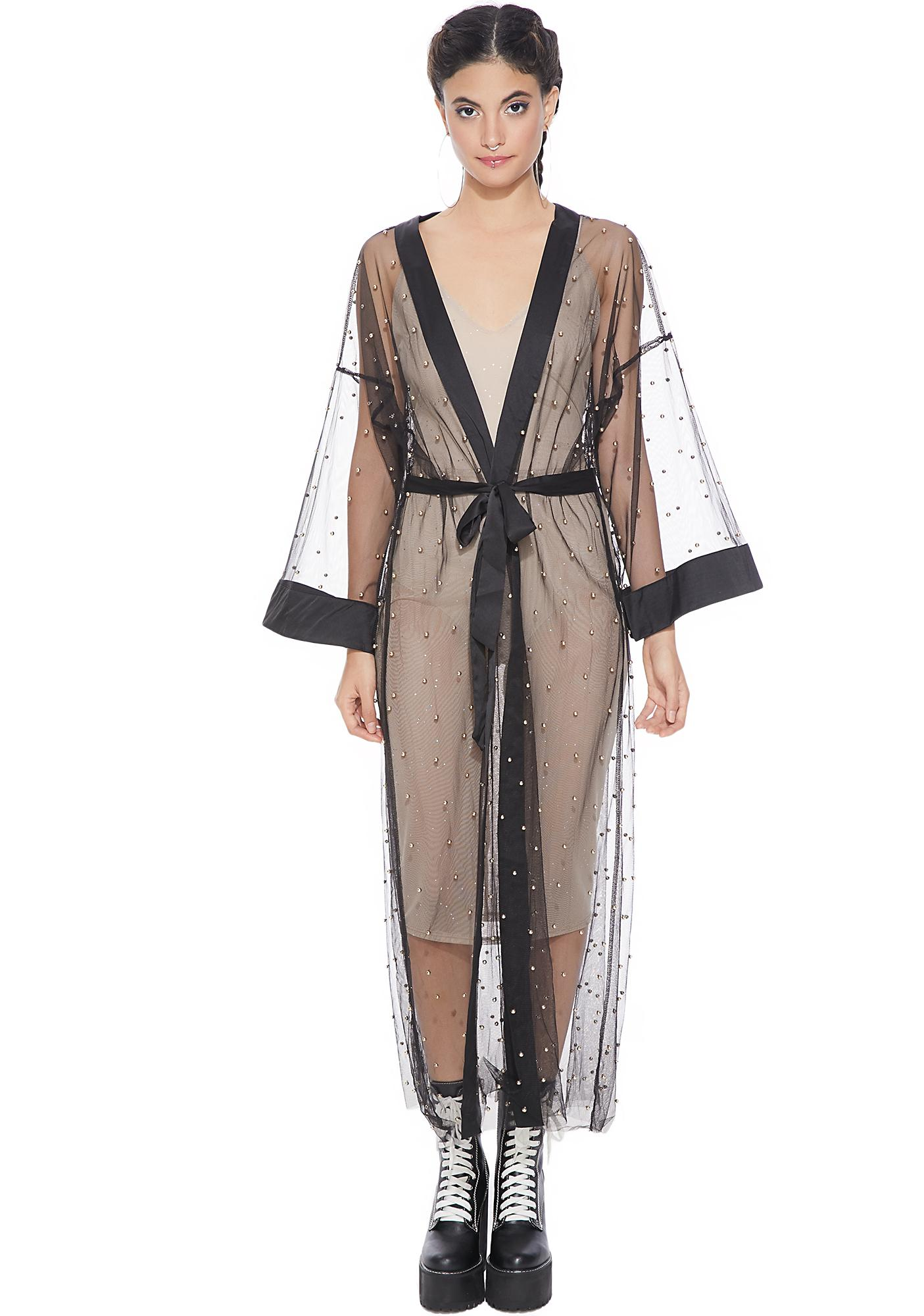 No Hiding Sheer Robe