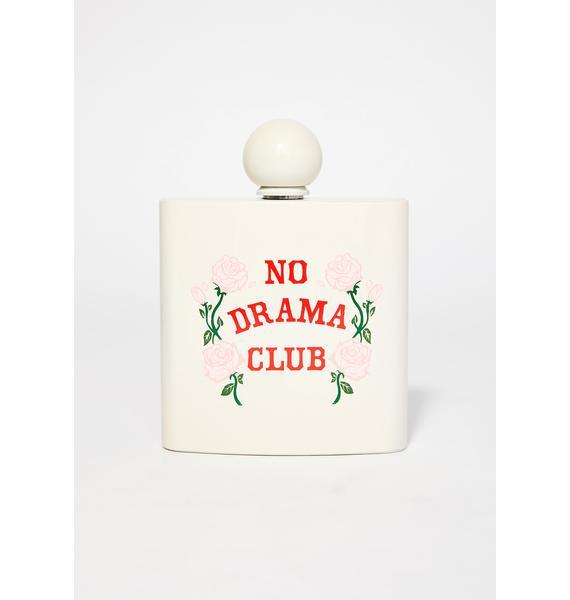 No Drama Club Flask
